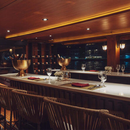 Most Luxury bar bangkok pruek cruise